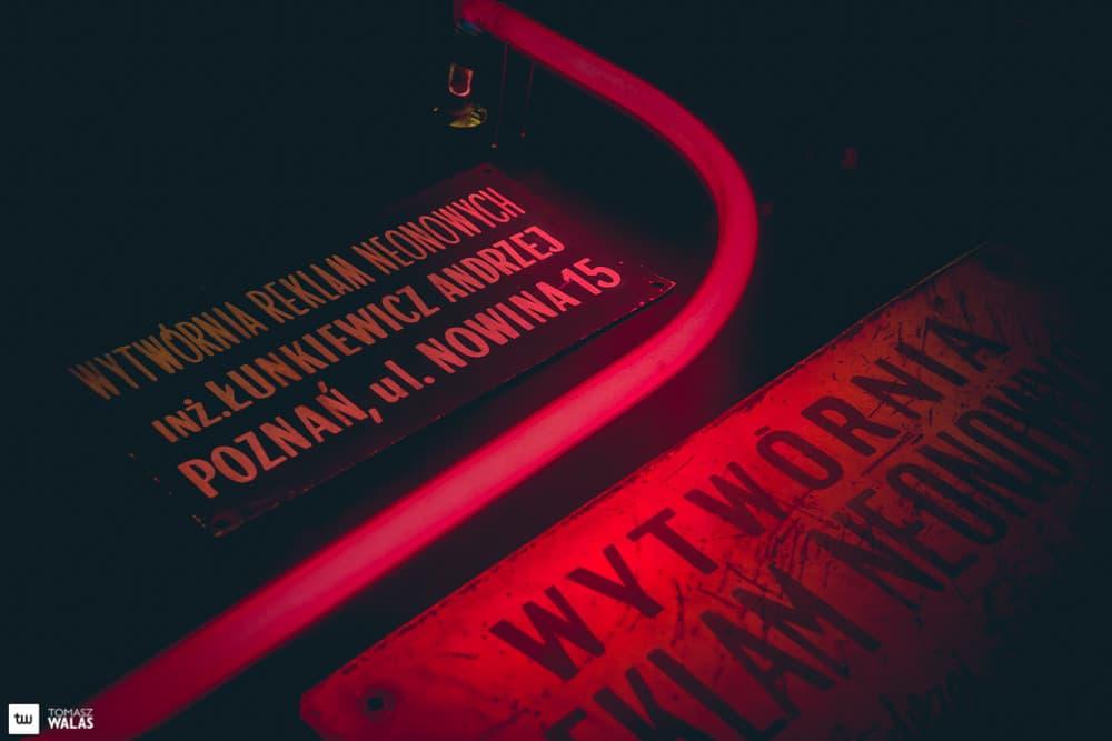 Poznań w basku neonów