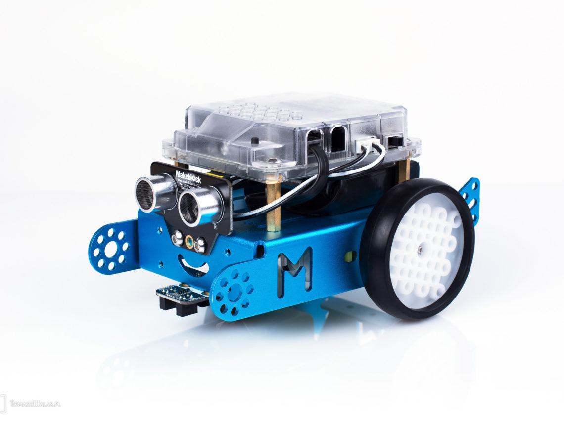 mbot — robot edukacyjny - sesja produktowa