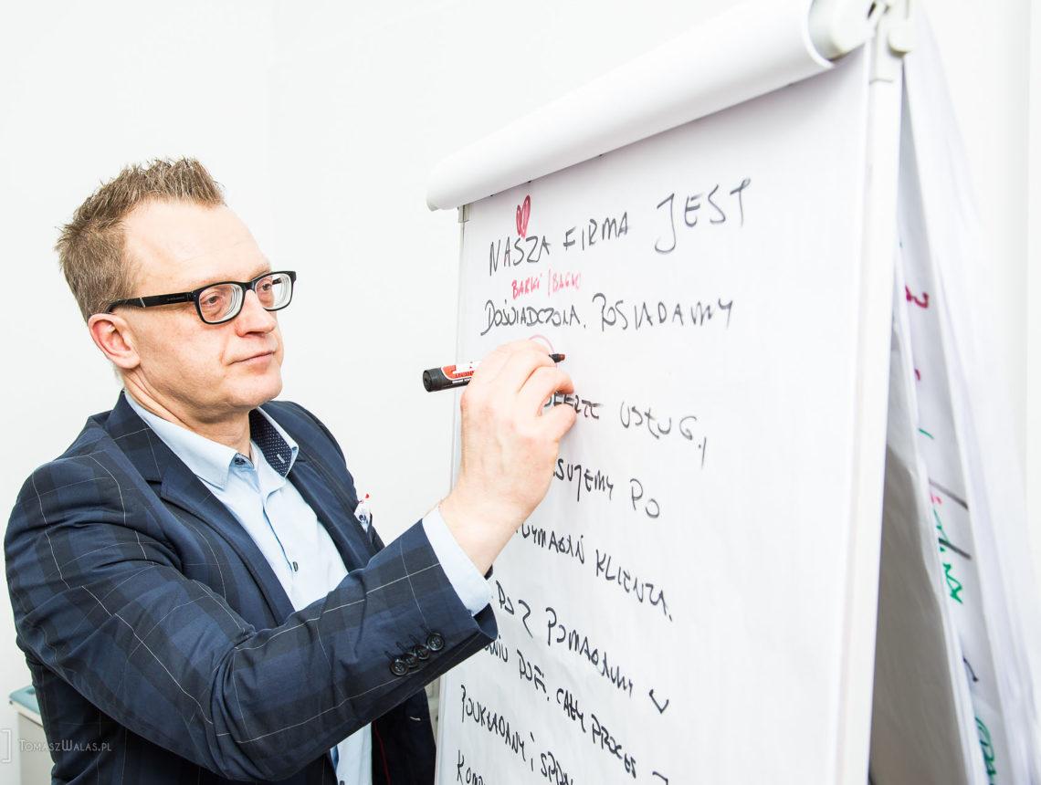 Reportaż ze szkolenia z Andrzejem Zdanowskim